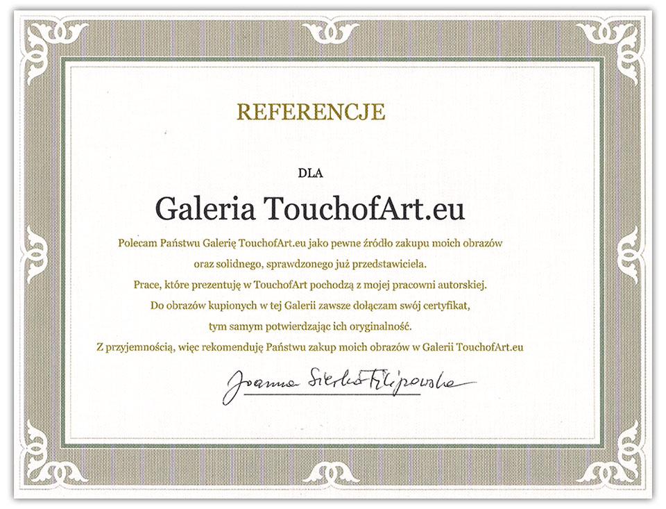 Referencje Joanna Sierko-Filipowska