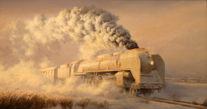 Zimowy pociąg