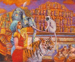 Treserka z Jaipuru