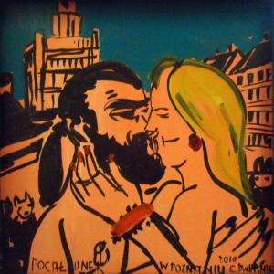 Pocałunek w Poznaniu