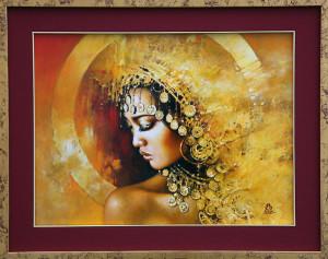 Dziewczyna ze złotem