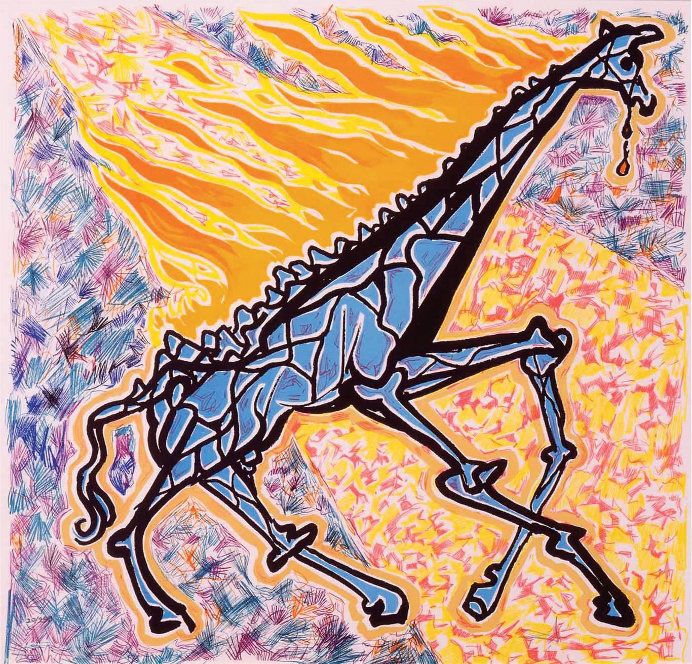 Plonaca Zyrafa