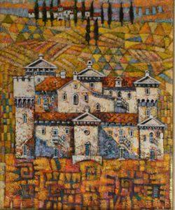Zamek w Toskanii