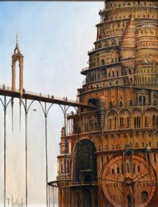Zwiedzanie wieży Babel