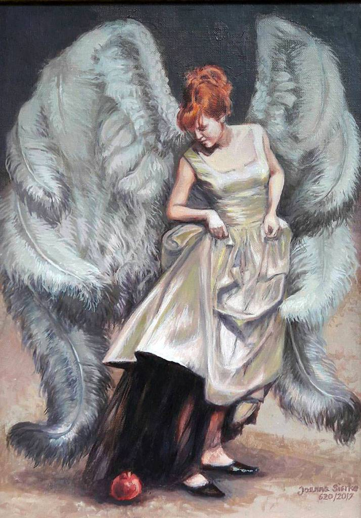 Anioł z granatem