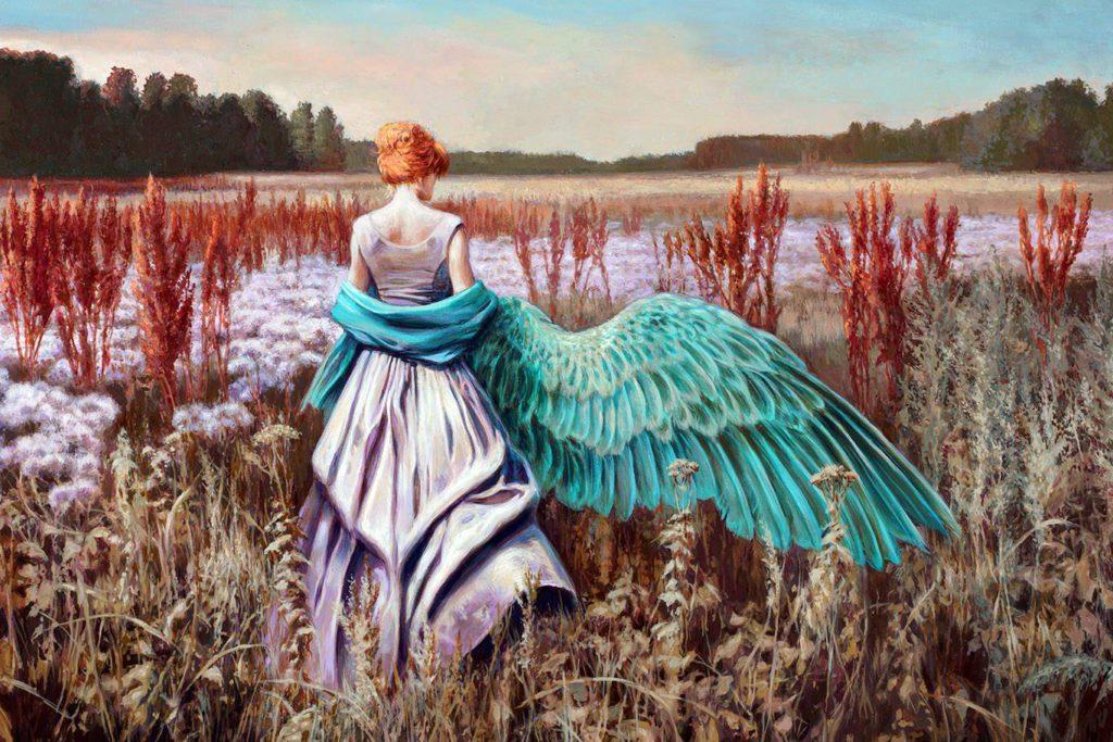 Narodziny jesiennego Anioła