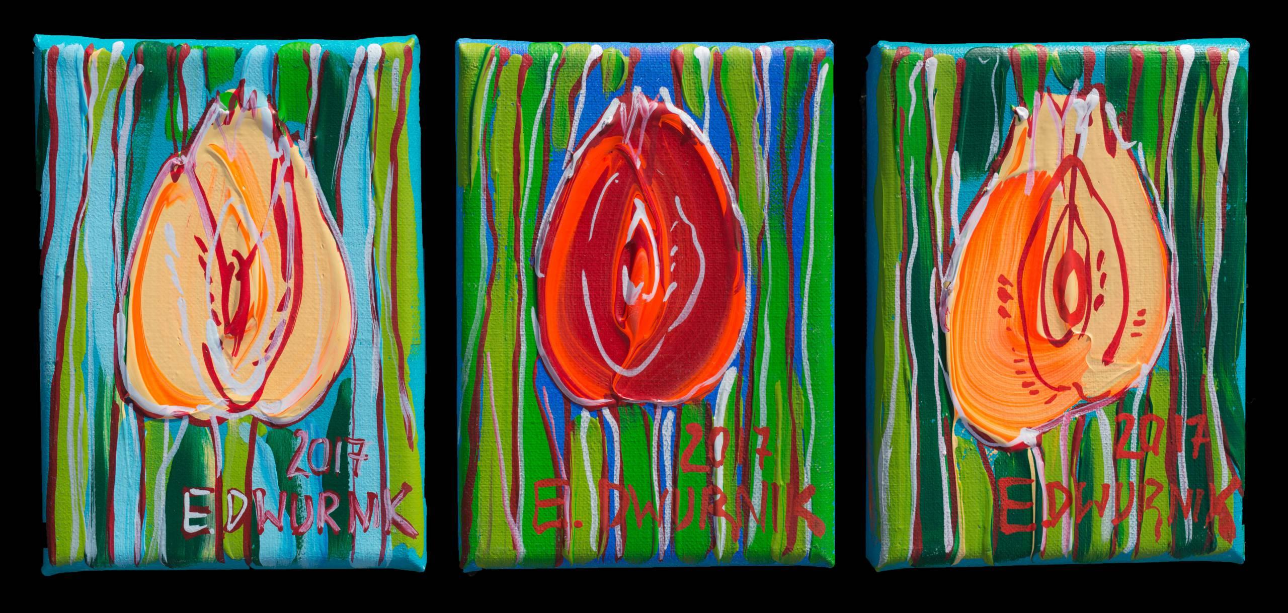 Tulipany- tryptyk