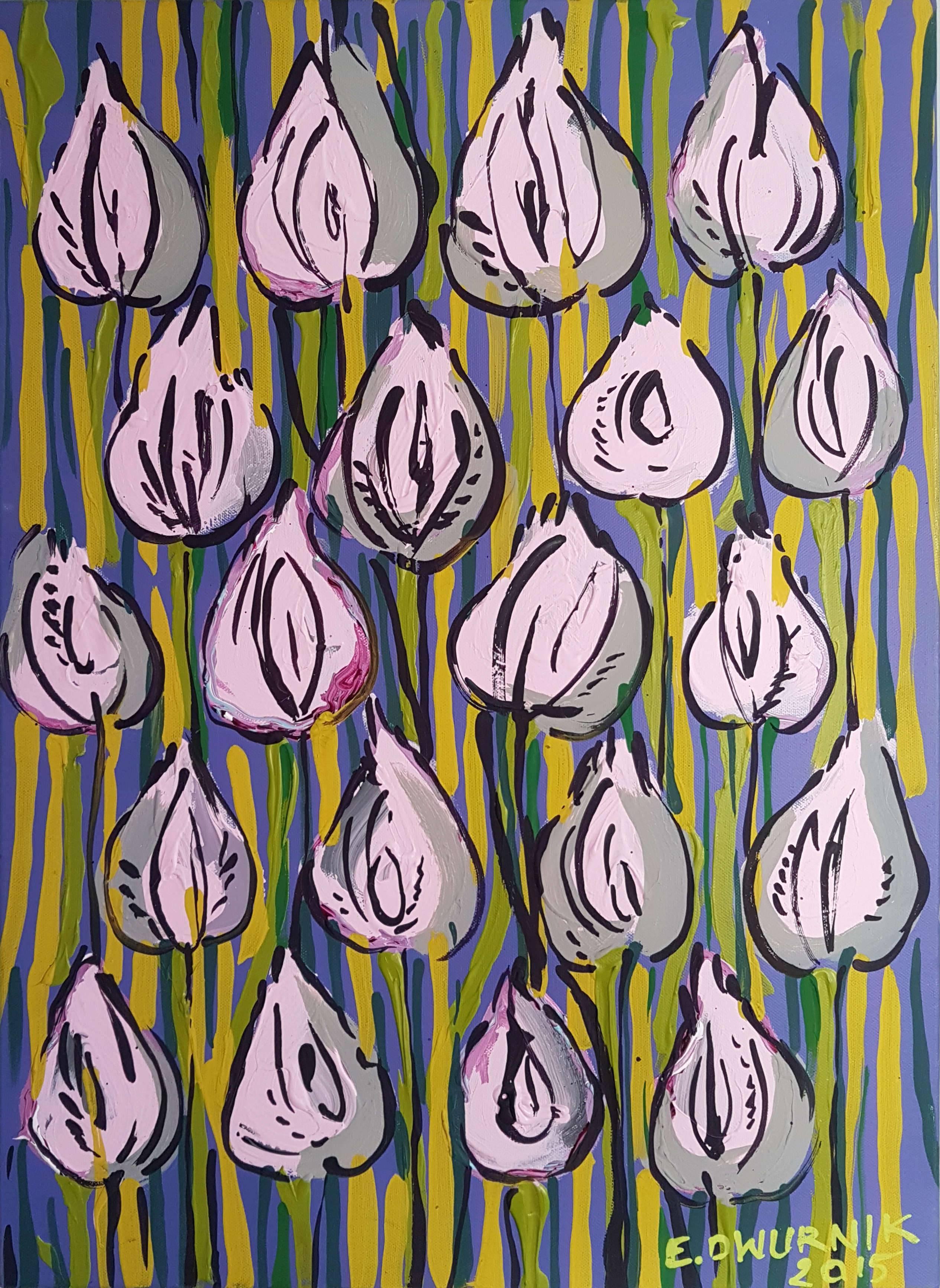 Tulipany różowe