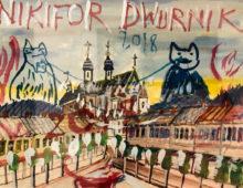 Cykl Nikifor/Dwurnik akwarele