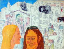 "Elihu i Elifan z cyklu "" Moi bohaterowie""rok1979"
